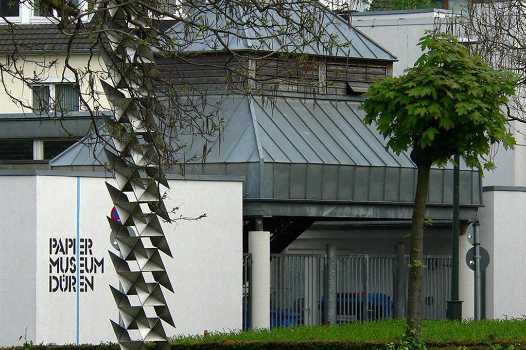 Das Papiermuseum bis zu seiner Umgestaltung im Jahre 2017.