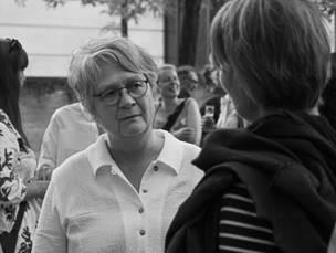 Schwarz-Weiß-Foto von Ulrike Surmann